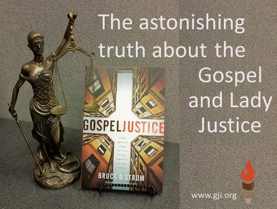 The astonishing truth about the Gospel and Lady Justice. - GJI 2859c90b45