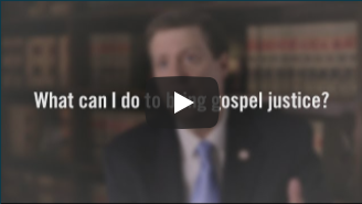 What can I do to bring gospel justice