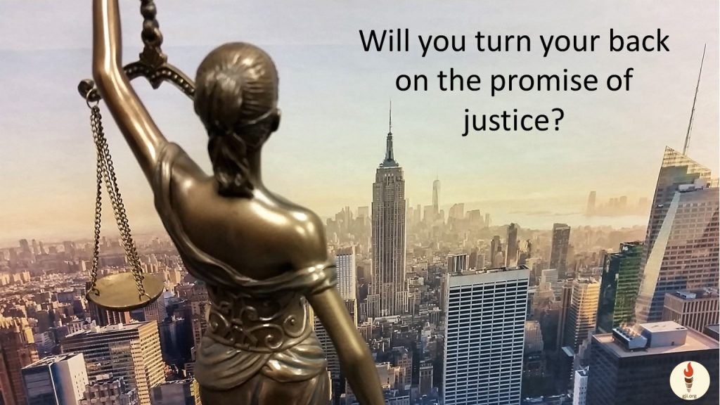 promise of justice